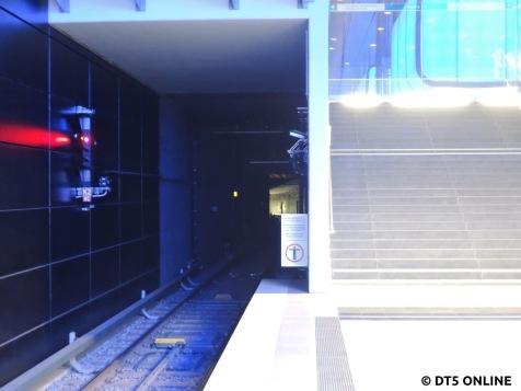 DT5 kündigen sich durch ihre hellen Lichter früh an