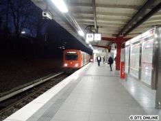 Kurze Zeit später auf dem Weg nach Volksdorf...