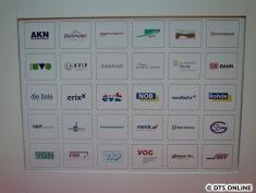 Zahlreiche Verkehrsunternehmen sind heute im Verbund.