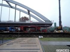 Die Brücke ist seit einigen Tagen fertig