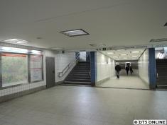 Aufgang Fibigerstraße, inzwischen wieder begehbar