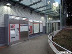 Der Aufzug bleibt bis Anfang Dezember außer Betrieb. Noch waren Techniker am Werk