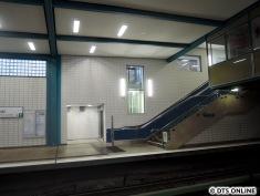 Auch der andere Aufzug bleibt außer Betrieb