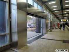 Der neue Ausgang ermöglicht nun den barrierefreien Zutritt zum Bahnstieg nach Billstedt