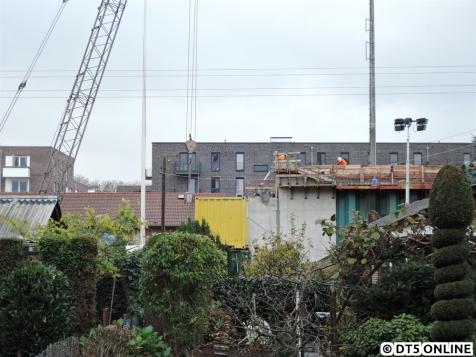 Am Donnerstag war noch nichts neues passiert. Zur Vollständigkeit der Dokumentation der Bauzustand...