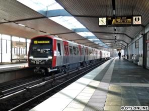 341 in Dehnhaide (U3 Wandsbek-Gartenstadt)