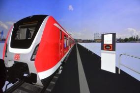 Fertigung der neuen S-Bahnfahrzeuge im Bombardier Werk Hennigsdorf - S-Bahn im virtuellem Studio