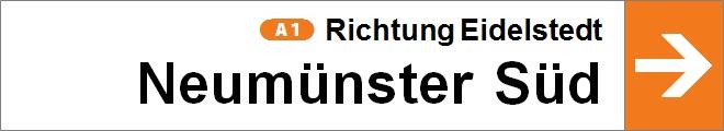 nach Neumünster Süd