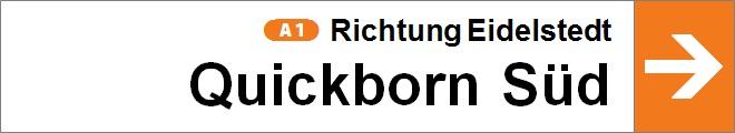 nach Quickborn Süd