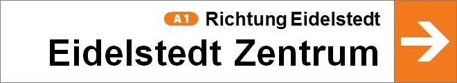 nach Eidelstedt Zentrum