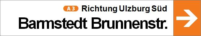 nach Barmstedt Brunnenstraße