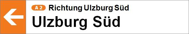 nach Ulzburg Süd