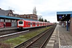 S21 bis Sternschanze am Bahnhof Billwerder-Moorfleet