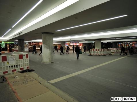 Der erste Teil des modernisierten Altonaer Bahnhofs ist bereits fertig und betretbar.