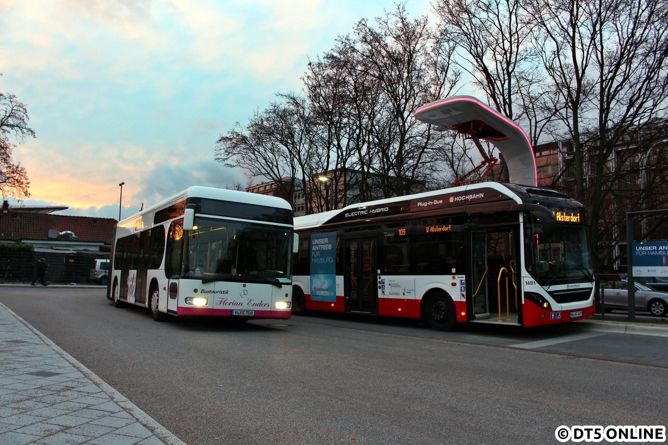 Enders E-Bus-Terminal Adenauerallee, H-FE 708 + HHA 1491 – DT5 Online