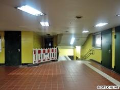 Aufzug Schalterhalle - Bahnsteig