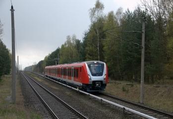 490 600 auf Probefahrt in Hennigsdorf bei Berlin - Foto: Motorstromwähler (DSO)