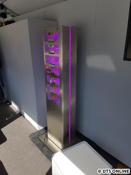 Zwar fragte die HOCHBAHN gerade ihre Kunden nach USB-Ladeplätzen, aber eine solche Station wird es nicht in den Bussen geben