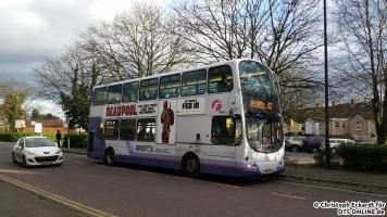 In Kingswood, einem Vorort erwischte ich einen weiteren besonderen Bus. Dieser Wright Eclipse Gemini auf Volvo B7TL Fahrgestell fuhr früher in London. Durch die Londoner Bestimmungen hat der Bus riesige Sitzabstände, weshalb ich trotz seines nicht ganz vibrationsarmen Motorlaufs gerne mit ihm gefahren bin.