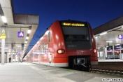 Der hintere Zugteil endete am Hauptbahnhof