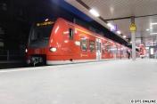 In Hannover fahren auf den S-Bahnen Züge der Baureihe 425.