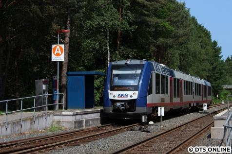 A2 nach Norderstedt Mitte am Hp Haslohfurth