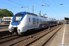 Abschließend sollte es von Oberbarmen mit diesem National Express-Talent 2 über Vohwinkel zum Hauptbahnhof gehen, ehe der ICE Richtung Hamburg rief.