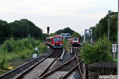 Nr. 5: 4051 erreicht von Poppenbüttel kommend den Bahnhf Ohlsdorf. Bis auf 4005 sollten mir heute tatsächlich alle auf Durchgängigkeit umgebauten Fahrzeuge vor die Linse.