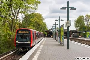 365 in Saarlandstraße (U3 Hauptbahnhof Süd)
