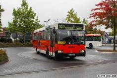Premiere: Am Verkehrshistorischen Tag fuhr der Wagen 2575 aus der zweiten MB O 405-Serie von 1985/86 erstmals für den HOV.