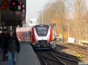 und es geht Richtung S-Bahn-Werk.