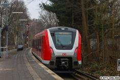 Ein Nachschuss mit den Formsignalen des Bahnhofs Sülldorf