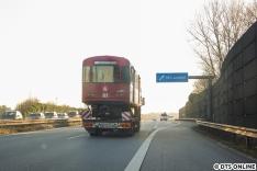 Ab dem Horner Kreisel ging es dann den bekannten Weg in Richtung Norden. Jenfeld hat übrigens damit mal wieder kurzzeitig U-Bahn-Anschluss...