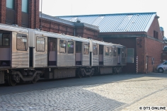Der Zug stand schon einige Tage dort, sodass ein Abtransport nur noch eine Frage der Zeit war.