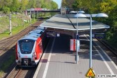 9104 bei Ausfahrt aus dem Haltepunkt Rübenkamp
