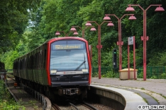 Am 8. Juli fuhr DT5 322 + 362 +312 auf der U1.