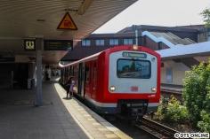 Zurück in die Vergangenheit: 472 533 als S1(1) nach Poppenbüttel am Berliner Tor