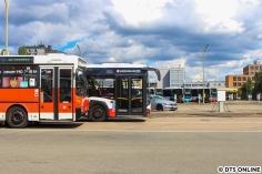 Seit letztem Jahr bereits sind fünf Solaris new Urbino 12 im Bestand.