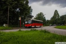 Vom Betriebshof Mesterkamp ging es zunächst entlang der Linie 272 (heute 7) zum Borchertring und weiter zum Bramfelder See, wo die Linie 171 beginnt und endet.