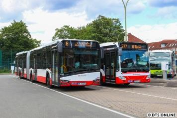 Wagen 7745 und 1730 noch einmal nebeneinander