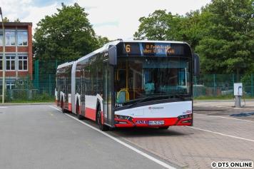Ein weiterer Neuzugang aus diesem Jahr ist der Solaris new Urbino 18.