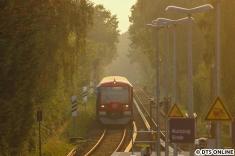 Bei abendlicher Stimmung erreicht 4002 Kornweg.