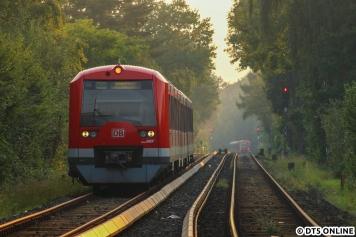 Mit Tele in Richtung Ohlsdorf: 4041 erreicht Kornweg.