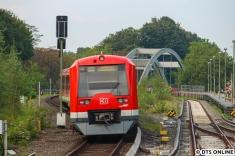"""4041 in einem """"klassischen"""" Fotomotiv. Aber heute leicht abgewandelt: Statt nach Blankenese fährt der Zug nach Poppenbüttel."""