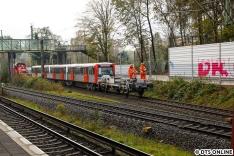 Leider fuhr zeitgleich eine S1 ein, sodass das eigentlich geplante Bild vom Bahnsteig nicht ganz klappte.