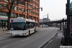 Am Sonntag, 4. März besuchte ich den S3-Ersatzverkehr, wo dieses Gefährt auffiel. Ein alter MAN-Gelenkbus.
