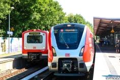 Der Neue neben seinem Vorvorgänger: 472 und 490 in Bergedorf.