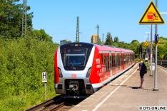 Auf der Rückfahrt hielt ich den Zug in Diebsteich fest - bald siehts hier ganz anders aus...