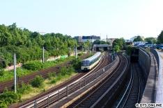 Die Züge trafen allerdings noch vor Hasselbrook wieder aufeinander.