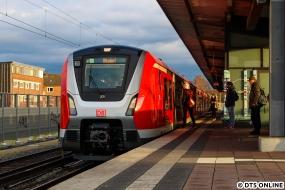 9002 auf Probefahrt als S1 Ohlsdorf in Barmbek, 23.11.2017